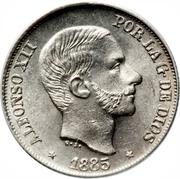 10 Centavos - Alfonso XII -  obverse