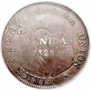 8 Reales - Fernando VII (1st type) – reverse