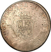 8 Reales - Fernando VII (2nd type) – obverse