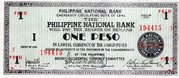 1 Peso (Negros Occidental) – obverse