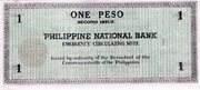 1 Peso (Negros Occidental) – reverse
