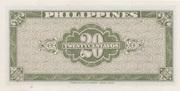 20 Centavos (Thomas de la Rue) – reverse