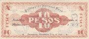 10 Pesos (Iloilo) – reverse