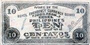 10 Centavos (Bohol) – reverse