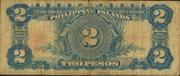 2 Pesos (Philippine Islands; treasury certificate; Pesos over 2) – reverse