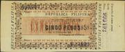 5 Pesos (Ley 26.11.1898) – obverse