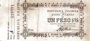 1 Peso (Ley 30.11.1898 & 24.04.1899) – obverse
