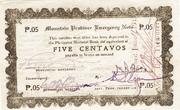 5 Centavos (Mountain Province) – obverse