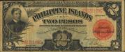 2 Pesos (Philippine Islands; treasury certificate; Pesos over 2) – obverse