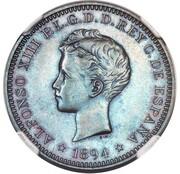 2 Centavos - Alfonso XIII (Pattern) – obverse