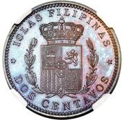 2 Centavos - Alfonso XIII (Pattern) – reverse