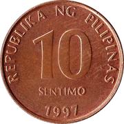 10 Sentimo -  reverse