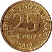 25 Sentimo -  reverse
