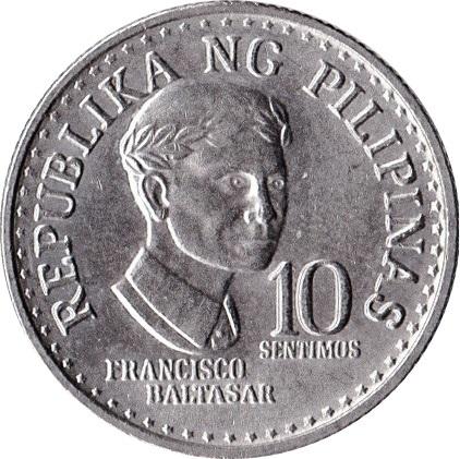 10 Sentimos Philippines Numista