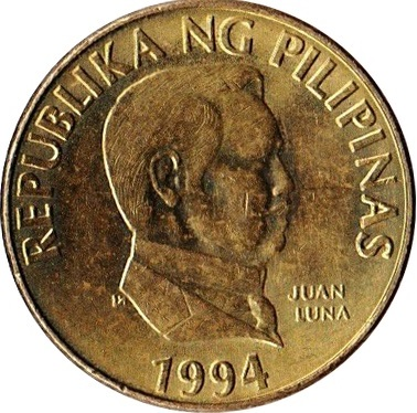 Philippines set 6 coins 1 5 25 Centimo 1 5 10 Piso 2017 UNC Lemberg-Zp
