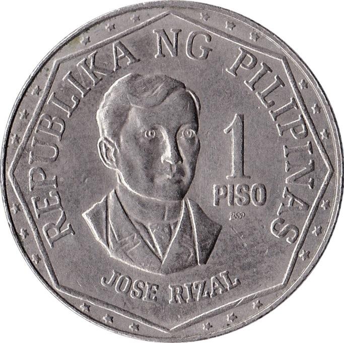 1 piso philippines numista
