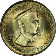 50 Centavos (Douglas McArthur) -  reverse
