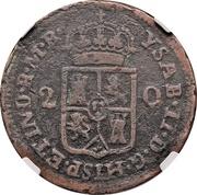 2 Quartos - Isabel II – obverse