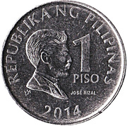 1 Piso (magnetic) -  obverse