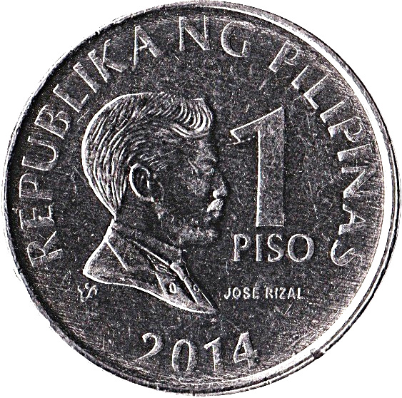 Central Bank Of The Philippines: 1 Piso (magnetic)