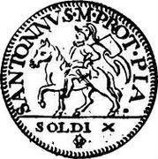 10 Soldi - Francesco I – reverse