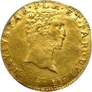 2 Doppie - Ottavio Farnese – obverse