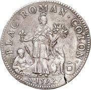 1 Scudo - Alessandro Farnese – reverse