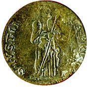 5 Soldi - Ranuccio II Farnese – reverse