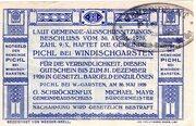 20 Heller (Pichl bei Windischgarsten; Blue issue) -  reverse