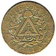 2 Soldi (Subalpine Republic) – reverse