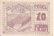 10 Heller (Pierbach) -  reverse