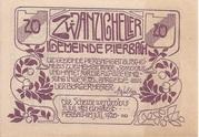 20 Heller (Pierbach) -  obverse
