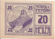 20 Heller (Pierbach) -  reverse