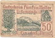 50 Heller (Pinsdorf) -  obverse