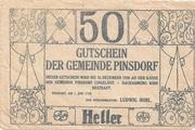 50 Heller (Pinsdorf) -  reverse