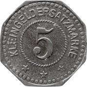 5 Pfennig - Pirna A. E. (F. Küttner) – reverse
