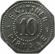 10 Pfennig - Pirna A. E. (F. Küttner) – obverse