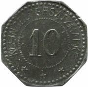10 Pfennig - Pirna A. E. (F. Küttner) – reverse