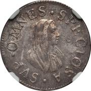 ½ Giulio / 1 Grosso - Cosimo III – reverse