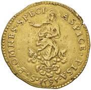 4 Scudi - Ferdinand I – reverse