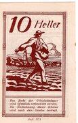 10 Heller (Pischelsdorf) -  reverse