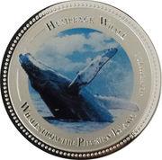 2 Dollars - Elizabeth II (Humpback Whale) – reverse