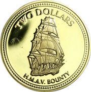 2 Dollars - Elizabeth II (3rd portrait) – reverse