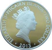 2 Dollars - Elizabeth II (Wreath at Cenotaph) – obverse