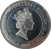 2 Dollars - Elizabeth II (White Spotted Jellyfish) – obverse