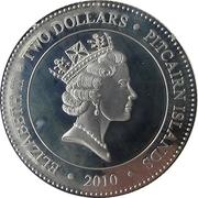 2 Dollars - Elizabeth II (Black Sea Devil) – obverse