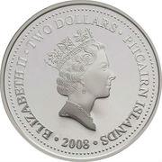 2 Dollars - Elizabeth II (HMAV Bounty; Gilt) – obverse