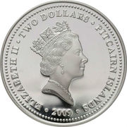 2 Dollars - Elizabeth II (Captain Bligh) – obverse