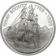 1 Dollar - Elizabeth II (H.M.A.V. Bounty) – reverse