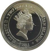 2 Dollars - Elizabeth II (Melanostomias Biseriatus) – obverse